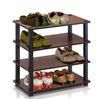 Turn-S-Tube 4-Tier Shoe Rack by Furinno