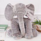 Baby Kids Children Gift Long Nose Elephant Doll Plush Stuff Toys Lumbar Pillow K