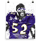 Ray Lewis Baltimore Ravens Poster FREE US SHIPPING