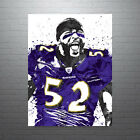 Ray Lewis Baltimore Ravens Poster FREE US SHIPPING $15.0 USD on eBay