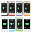 2200mAh For iPhone 5 5S External Battery Backup Charging Bank Power Case CoverSE