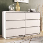 Chest of Drawers - 6 Drawers Bedroom Furniture Cabinet Sideboard Cupboard
