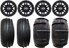 "KMC XS128 Machete 14"" UTV Wheels 28"" Sand Stripper Tires Can-Am Defender"