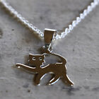 Cat Pendant 925 Sterling Silver BRAND NEW Animal Jewellery