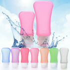 Silicone Travel Shampoo Lotion Makeup Bath Gel Container Squeeze Bottle 3 Sizes
