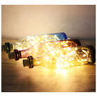 Nightlight with deer pattern-Special&cool handmade by Nordic wood+glass bottle!!