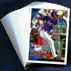 2010 Topps Atlanta Braves Baseball Card Your Choice - You Pick