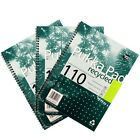 PUKKA A4 RECYCLED WIREBOUND PADS 110 page - PACKS of 1 / 3 / 5