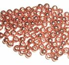 PREMIUM COPPER BRASS BEADS FOR FLY TYING - 8 SIZES TO PICK FROM - 100 COUNT