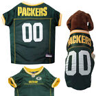 NFL Pet Fan Game Gear GREEN BAY PACKERS Dog Jersey for Dogs XS-2XL BIG SIZES