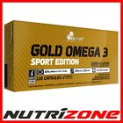 OLIMP GOLD OMEGA 3 SPORT EDITION Fish Oil Fatty Acids EPA DHA Healthy Heart Caps