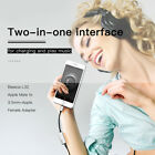 Apple Male to Female Adapter Mini For Charging&music 0.2M 3.5mm 2-in-1 Interface