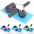Ab Roller Abs Wheel Abdominal Exercise Core Strength Training Muscle Portable