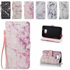 3D Marble Design PU Leather Case Wallet Flip Stand Cover for Samsung Galaxy S2