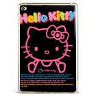 Adorable Hello kitty Black Soft Silicone TPU Case Cover For Samsung iPad A08D56