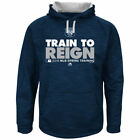 MLB NY Yankees TRAIN TO REIGN 2016 Spring Training Blue Sweatshirt Size Below