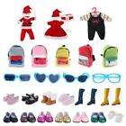 Clothing Shoes - Doll Clothing & Accessories Clothes Shoes Bag Glasses for 18inch American Girl