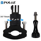 PULUZ 360º Rotation Bicycle Metal Handlebar Mount Adapter For GoPro 5 4 3 2 1