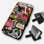 STAR WARS RETRO COMICS - FLIP PHONE CASE COVER WALLET CARD HOLDER (N) £8.95 GBP