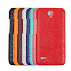 Luxury Crocodile Grain Leather Thin Phone Case Cover Skin For Huawei Ascend Y560