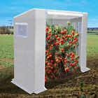 7x3x6'H Tomato Greenhouse Replacement Canopy PE Waterproof Green House Cover