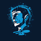 STAR TREK Spock USS Enterprise Vulcan Leonard Nimoy Science Mens T-Shirt (M-2XL) on eBay