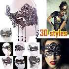 Quality lace eye mask Masquerade Ball Costume Party Fancy Dress New tattoo