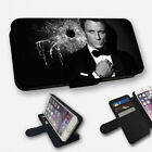 JAMES BOND DANIEL CRAIG - FLIP PHONE CASE COVER WALLET CARD HOLDER (N) £8.95 GBP
