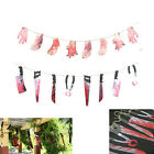 Spooky Halloween Party Haunted House Hanging Garland Pennant Banner Decor 2017