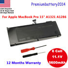 """Battery For Apple 15"""" MacBook Pro A1321 A1286 MC118 (Mid-2009 2010 Version) USA"""