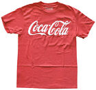 Coca Cola Logo Red Heather Men's Graphic T-Shirt New $12.82  on eBay