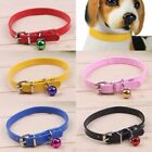 Adjustable Safety Belt Pu Leather Pet Dog Cat Puppy Collar Buckle Neck Strap