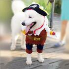 Funny Pet Cat Costumes Pirate Skull Pattern Halloween Party Costume Clothes YU