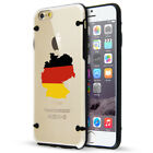 For Apple iPhone SE 5s 6 6s 7 8 Plus Slim Clear TPU Hard Case Cover Germany