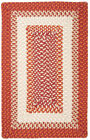 Montego Indoor Outdoor Rectangle Rug, Bonfire ~ Made in USA