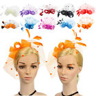 Fascinator Women Sinamay  Occasion Wedding Hats Party Derby Cocktail Hat