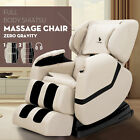 Deluxe Full Body Shiatsu Massage Chair ZERO GRAVITY Recliner with Heat Foot...