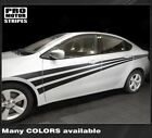 Dodge Dart 2013-2018 Side Accent Triple Stripes Decals (Choose Color) $64.4 USD on eBay