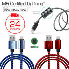 MFI Certified Apple Lightning Data Sync Cable Charger for iPhone 6 6s 7 8 Plus X
