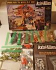 AXIS & ALLIES SPRING 1942 MILTON BRADLEY BOARD GAME REPLACEMENT PIECES - U Pick