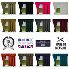 Static Fully Lined Ready Made Caravan Curtains Quality Made To Measure Free P+p