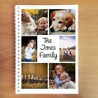 PERSONALISED NOTEBOOK GIFT ADD ANY TEXT, COLOUR, IMAGE, PHOTO OR SLOGAN. A4 A5