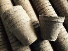 3 1/4 Inch DIA .JIFFY PEAT POTS for SEED STARTING/GREENHOUSE SUPPLIES