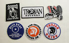 TROJAN SKINHEAD BLUE BEAT  Iron On Sew On Embroidered Patch Ska Reggae