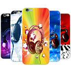 Love Music With Headphones & Notes Hard Case Phone Cover for Apple Phones