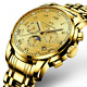 Automatic Watches Day Date Hour Showcase Men's Mechanical Watch Datograph