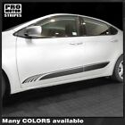Dodge Dart 2013-2018 Lower Door Rocker Panel Side Stripes Decals (Choose Color) $45.96 CAD on eBay