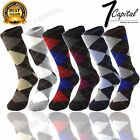 Kyпить 3 6 9 12 Pairs Lords Cotton Men's Multi Color Argyle Diamond Dress Socks 10-13 на еВаy.соm