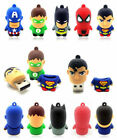4GB 8GB 16GB 32GB Cartoon Flash Memory Stick Warriors Model USB 2.0 Pen Drive