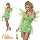 Adult Tinker Fairy Costume Sexy Ladies Woodland Pixie Fancy Dress Outfit New